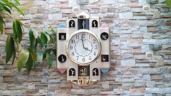 Đồng hồ Citizen Lâu Đài Cổ Tích, Quả Lắc cách điệu và Nhạc Báo Giờ - Mã số: CTZ 747