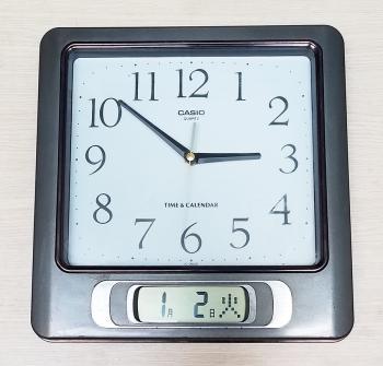Đồng hồ Casio vỏ kim loại, viền đồng có Lịch vạn niên điện tử – Máy Rhythm WatchJapan – Mã số: CSO IC360