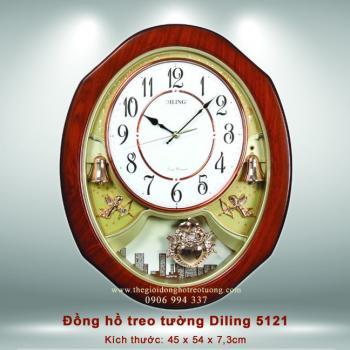 Đồng hồ Treo tường Diling 5111