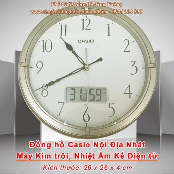 Đồng hồ CASIO Kim trôi Có Nhiệt Ẩm Kế điện tử