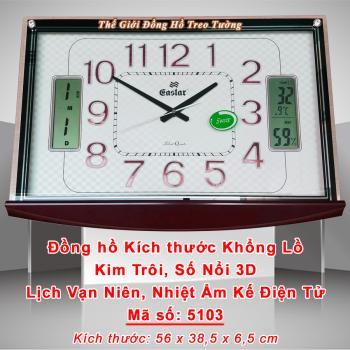 Đồng hồ Khổng Lồ, Kim Trôi, Số nổi 3D, Lịch Vạn Niên và Nhiệt Ẩm Kế